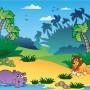 Fototapete Dschungel