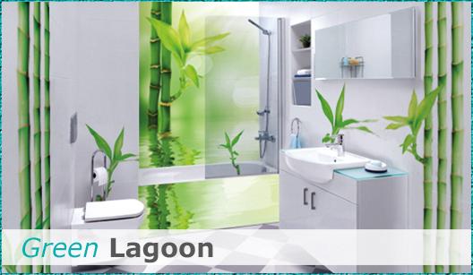 Badezimmerdesign Green Lagoon