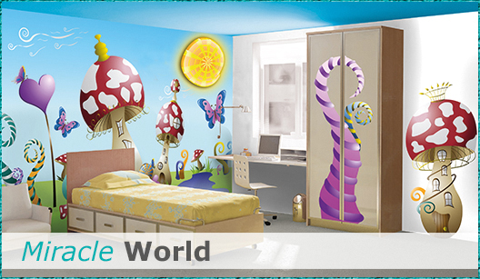 Kinderzimmer Design Miracle World
