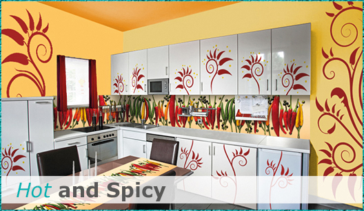 Hot and Spicy Küchendesign